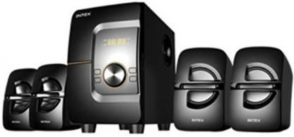 Intex IT-Bang4.1-SUF 4.1 Channel Multimedia Speakers 65 W Bluetooth Home Audio Speaker 65 W Bluetooth Home Theatre