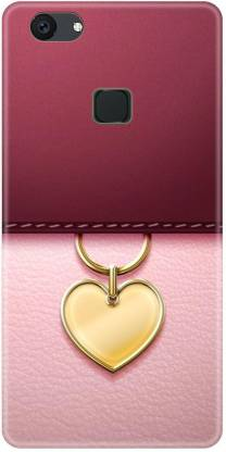 Smutty Back Cover for Vivo Y81, Vivo 1808, Vivo 1803 - Heart Locket Print