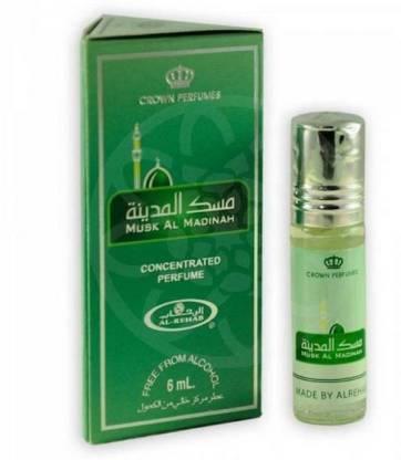 AL- REHAB Musk Al-Madinah 030 Floral Attar 6 ml Pack of 2 (For Men & Women) Floral Attar