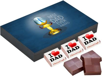 CHOCOCRAFT Father day gift ideas - 12 Chocolate Gift Box - Fathers day gift ideas from baby Truffles