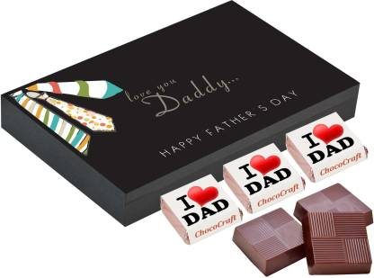 CHOCOCRAFT Fathers day gifts - 6 Chocolate Gift Box - Fathers day gift ideas from baby Truffles