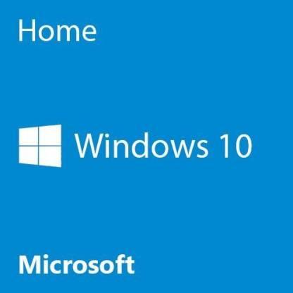 MICROSOFT Windows 10 Home 64 Bit English 1PK DSP OEI DVD