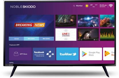 Noble Skiodo INT Intelligent Smart 80cm (32 inch) HD Ready LED Smart TV