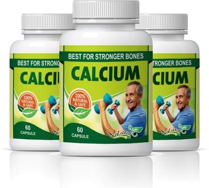 Natural Calcium Best Stronger For Bones Capsules Pack of 3