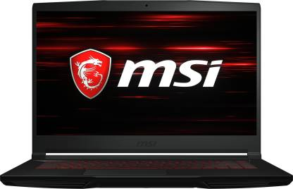 MSI GF63 Thin Core i5 9th Gen - (8 GB/1 TB HDD/Windows 10 Home/4 GB Graphics/NVIDIA Geforce GTX 1650 with Max-Q) GF63 Thin 9SCXR-862IN Gaming Laptop