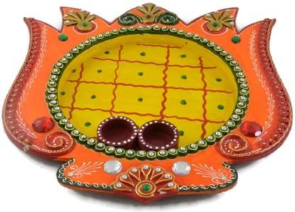 Eurasiahandicraft Pooja Thali Wooden