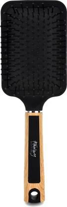 FOOLZY Large Square Paddle Brushes for Hair Brush