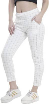 RD Fashions White Jegging