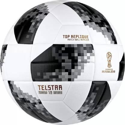 Fox Telstar Russia 2018 White/Black Football - Size: 5