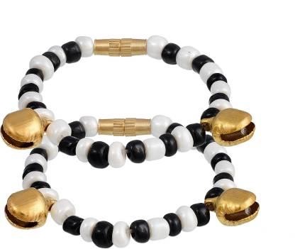 RN Stone Beads Charm Bracelet