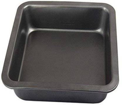 Right Products Square Oven Baking Tray Steel Microwave Turntable Plate