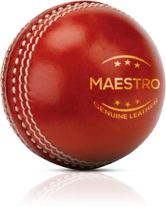 Adrenex by Flipkart Maestro 2 panel Red Cricket Leather ball