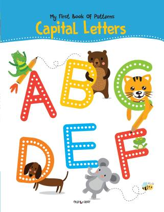 Miss & Chief My First Book Of Patterns Capital Letter