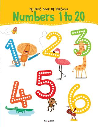 Miss & Chief My First Book Of Patterns Numbers 1 to 20