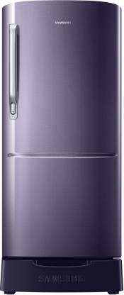 SAMSUNG 192 L Direct Cool Single Door 3 Star Refrigerator with Base Drawer