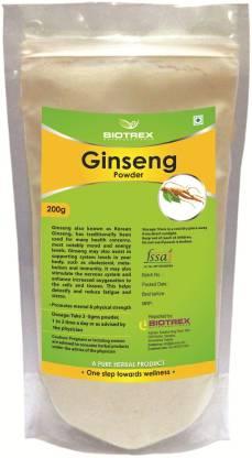 BIOTREX NUTRACEUTICALS Ginseng Herbal Powder