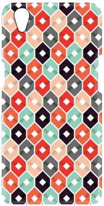 Smutty Back Cover for Oppo A37, Oppo A37f, A37f, A37fw, A37m - Honeycomb Print