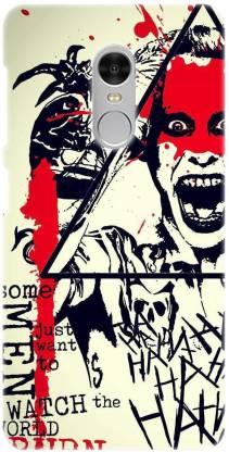 Smutty Back Cover for Mi Redmi 5 - Joker Print