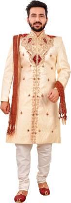 SG LEMAN Embellished Sherwani