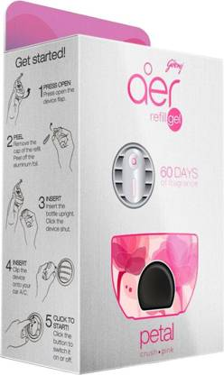 Godrej Aer Petal Crush Pink Car Freshener