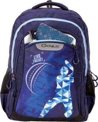 GENIUS Master Blue 19 inch Laptop Backpack Waterproof Backpack
