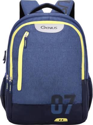 GENIUS Gseven Blue 19 inch Laptop Backpack Waterproof Backpack