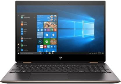 HP Spectre X360 Core i7 8th Gen - (16 GB/512 GB SSD/Windows 10 Home/2 GB Graphics) 15-DF0013DX 2 in 1 Laptop