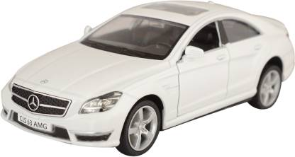 RMZ 5''Pull Back Mercedes Benz CLS 63 AMG - White