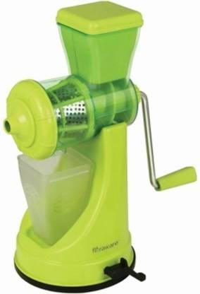KitchenFest NO Polypropylene Hand Juicer 0 Juicer (1 Jar, Green)