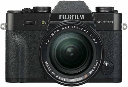 FUJIFILM X-T30 Mirrorless Camera Body with 18-55 Kit Lens