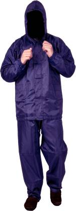 FOBHIYA Solid Men & Women Raincoat