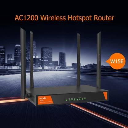 TENDA W15E AC1200 1200 Mbps Router