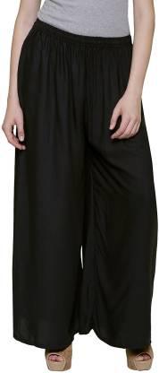 BILOCHI'S Relaxed Women Black Trousers