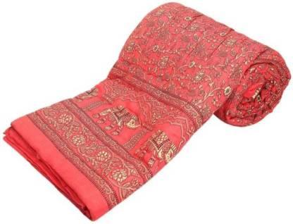 Shriyanshi Self Design Double Quilt