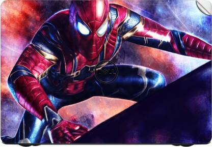 GADGETS WRAP GWSG-7620 Printed Top Only iron spider spiderman Vinyl Laptop Decal 13