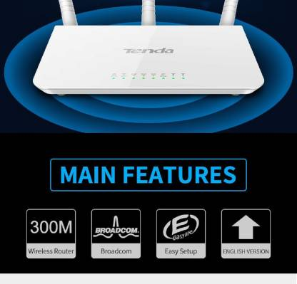 TENDA F3 Wireless Router 300 Mbps Router