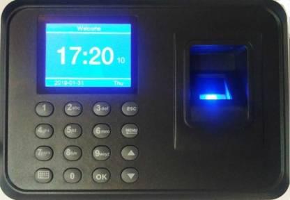 Sanket enterprise Biometric Fingerprint Based Time & Attendance System Machine USB Plug & Play Time & Attendance