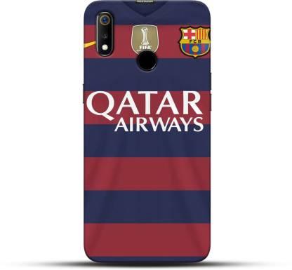 Pikkme Back Cover for Qatar Airways Oppo Realme 3