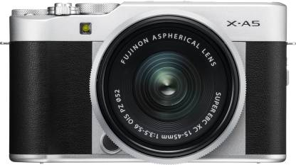 FUJIFILM X Series X-A5 Mirrorless Camera Body with 15 - 45 mm Lens F3.5 - 5.6 OIS PZ