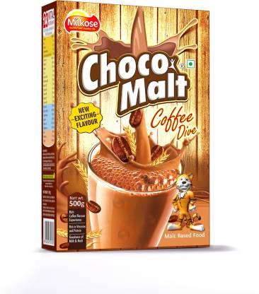 Chocomalt Milkose Choco Malt Coffee Dive 500g Refill Price In India Buy Chocomalt Milkose Choco Malt Coffee Dive 500g Refill Online At Flipkart Com