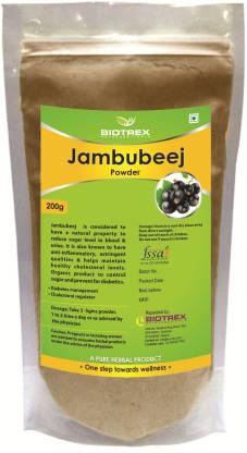 BIOTREX NUTRACEUTICALS Jambubeej Herbal Powder