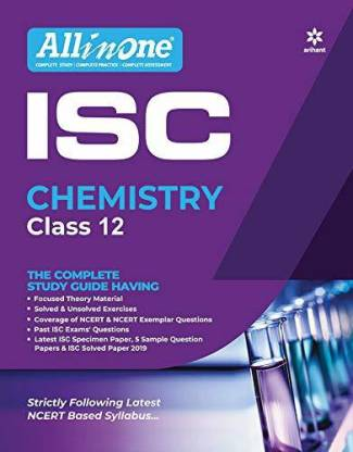 All in One Isc Chemistry Class 12 2019-20