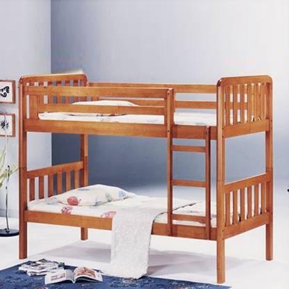 Royaloak Tulip Solid Wood Bunk Bed Price In India Buy Royaloak Tulip Solid Wood Bunk Bed Online At Flipkart Com
