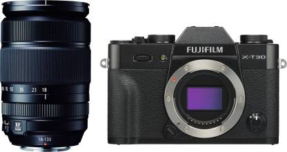 FUJIFILM X Series X-T30 Mirrorless Camera Body with 18 - 135 mm Lens