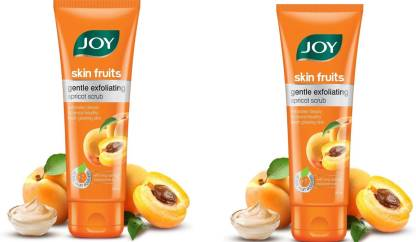 joy skin fruits Gentle Exfoliating Apricot Scrub (400 ml) Scrub