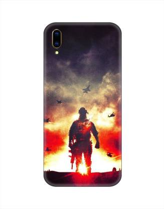 Smutty Back Cover for Vivo V11 Pro - Soldier Print