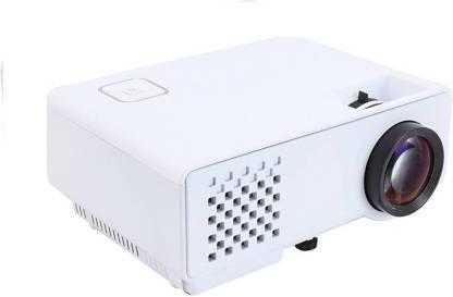 Punnkk P6 LED with HDMI,VGA,AV, USB White Portable Projector