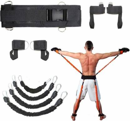 IRIS 150 Lbs Boxing MMA Crossfit Training Belt Leg Strength Gym & Fitness Kit