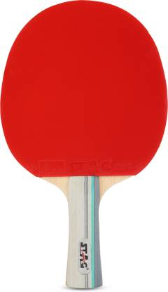 STAG 4 Star Red, Black Table Tennis Racquet