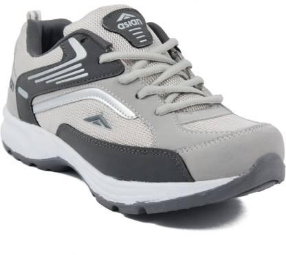 Asian Future-01 Grey Running Shoes,Walking Shoes,Training Shoes,Sports Shoes,Casual running shoes For Men